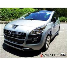 HIGH QUALITY PEUGEOT 3008 DOOR/WINDOW VISOR FOR YEAR 09' & ABOVE