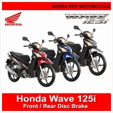 Honda Wave 125i Front/Rear Disc Brake Motorcycle)