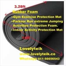 Parkour Run Extreme Jumping Activities Protection Rubber Foam