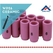 NO.6 TIG ceramic cup welding spare parts Malaysia ( per pcs)