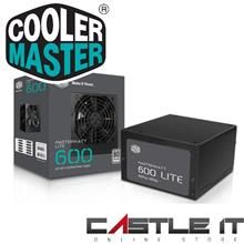 COOLER MASTER MASTERWATT LITE 600W Power Supply (MPX-6001-ACABW-UK)
