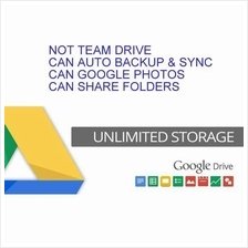 Unlimited Google Drive Storage One Time Payment (NOT Team Drive)