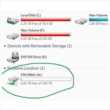 5TB Harddisk Cloud Storage for Windows PC Only + FREE Office 365
