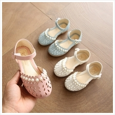 Kids Shoes Girls Pearl Style Soft Bottom Princess Female Casual Flats