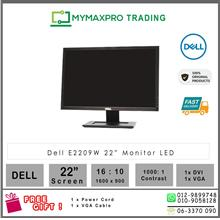 "Dell E2209W 22"" LCD Monitor 22-inch 1680x1050 VGA DVI 300 cd/m2"