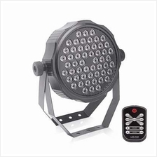 UKing 54LEDS RGBW DMX512 Aluminum Par Can Stage Light with Remote  Controller (
