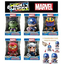 MARVEL MIGHTY MUGGS CHANGING FACE FIGURE THANOS HULK IRONMAN SPIDERMAN