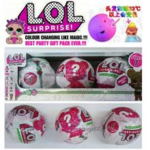 LATEST LOL Surprise Doll New Series 7 Changing Colour Doll 3 in 1 Box