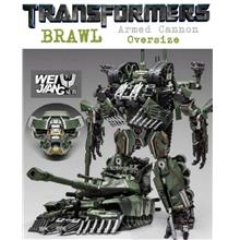 Wei Jiang Transformers Armed Cannon Aka Brawl KO Oversized Alloy Parts