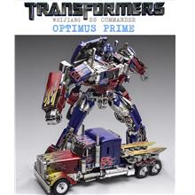 Wei Jiang Oversized KO Optimus Prime SS05 Alloy Parts Transformers Toy