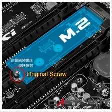 OEM 3mm M.2 Screw for use in M.2 SSD (Screw Only) Thumb Screw and Screw Compat
