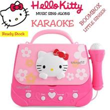 HELLO KITTY MUSIC BAG TOYS SING KARAOKE MP3 SPEAKER MUSIC LEARNING TOY