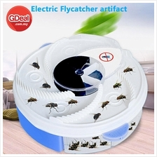 Electric Flycatcher Automatic Fly Trap Pest Control Catcher Plug Type