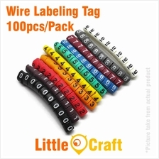 Cable Label Tag Number 0-9 100pcs/pack