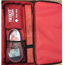 TRIKIT Car Emergency Kit (Booster Cable + First Aid + Triangle)