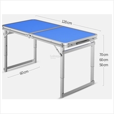 Outdoor folding table outdoor table stall portable aluminum table home