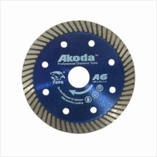 "AKODA 4"" 105MM 1.4MM A6 SHARP  & LONG-LIFE DIAMOND BLADE (THIN  & TURBO)"