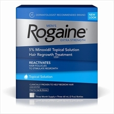 Rogain 5% Topical Solution Hair Regrowth Treatment for Men 3 Month