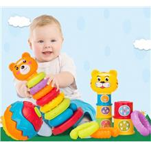 Children Educational Toy Baby Building Pyramid Blocks