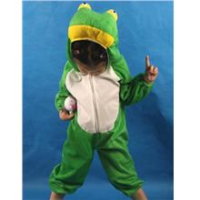 Promotion - Frog Kids Animal Costume For Stage Performance Size L