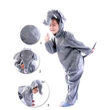Promotion - Elephant Cosplay Kids Animal Outfit Costume Size XL