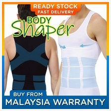 8277ca5823d Men s Slimming Body Shaper Belly Fatty Vest Shirt Corset Compression B