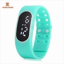 HENGZHENG DIGITAL WATCH DATE DISPLAY LED WRISTWATCH WITH TWO REPLACEABLE DIAL