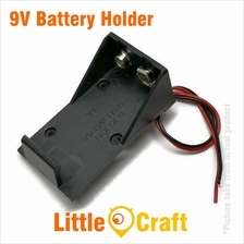 9V Battery Holder With Cable