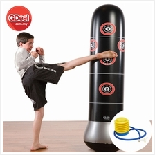 Pressure Relief Fitness Boxing Bounce Back Sandbag With Air Pump