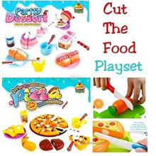 Kitchen Toys Cutting Fruit Food Play Vegetable Kids Pretend Play Toys