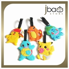 Pokemon Pikachu Luggage Tag Suitcase Name Tags Gift Charmender Bulbasaur Squir