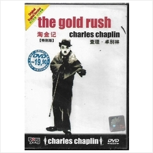 English Movie Charles Chaplin The Gold Rush DVD