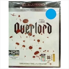 English Movie Overlord 4K Ultra HD Blu Ray
