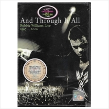 Robbie Williams Live 1997-2006 And Through It All DVD