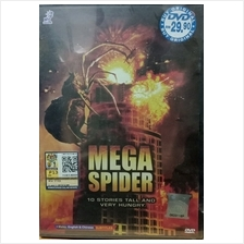 English Movie Mega Spider DVD