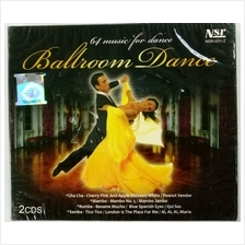 Ballroom Dance 2CD 64 Music For Dance Cha Cha Mumbo Rumba Samba