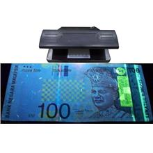 UV Light Fake Currency Detector/Checker. Wireless, Portable, Durable