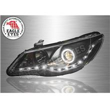 HONDA CIVIC FD 06-11 EAGLE EYES Starline Projector Head Lamp