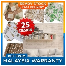Variety Brick and Stone pattern Wallpaper Waterproof Wall Sticker Home