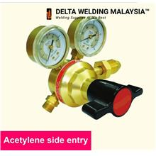 Acetylene Single Stage 2 Gauges Regulator Malaysia (certified)