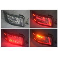 Toyota Vios 14- Black Face Light Bar LED Tail Lamp