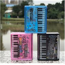 Cute Piano Keyboard Music Double Holes Two-Holes Pencil Sharpener