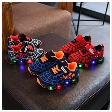 Kids Shoes Boys Sneakers Children's Toddlers Spiderman Style Running