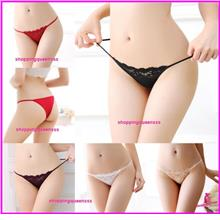198c562bd78 Sexy Lingerie Women Underwear Girls Panties G-String Briefs -