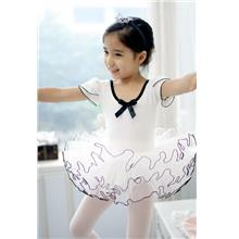 White Ballet Dance Dress (Economy) Size XL