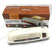 Anti-Curl Double Roller Plastic Cover Pouch A4 Laminator (RT-A4)
