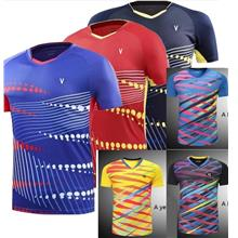 Badminton jersey shirt fastdry lightweight for men women (2018-2design