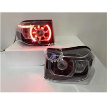 Toyota Fj Cruiser 08-Up Led Tail Lamp Black Base