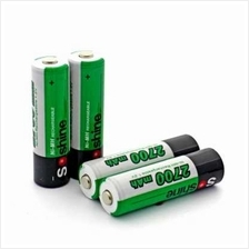 Soshine Ni-Mh Battery Rechargeable AA 1.2V 2700mAh (GREEN)