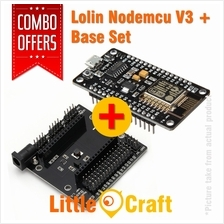 Lolin Nodemcu V3 + Expansion Base Combo